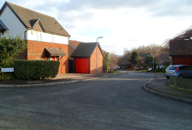 Eastern arm of Hendre Court, Henllys, Cwmbran