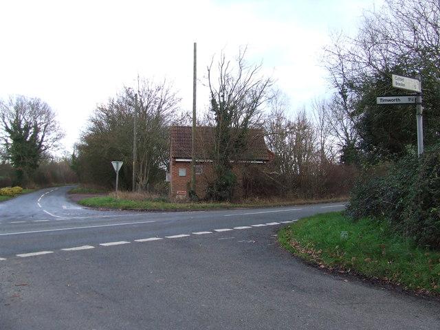 Crossroads And Telephone Exchange