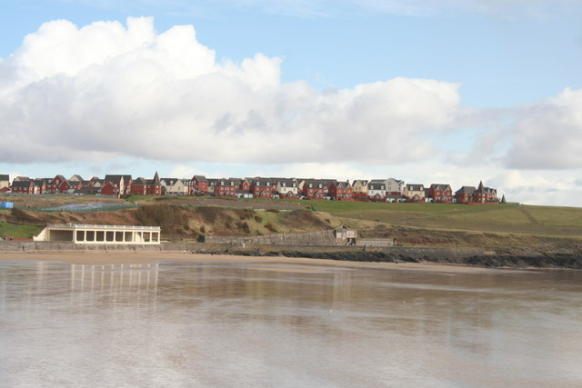 Barry Island - New Housing estate where Butlins was Mar 2008