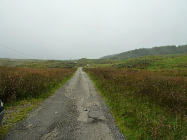 A misty day on the moors