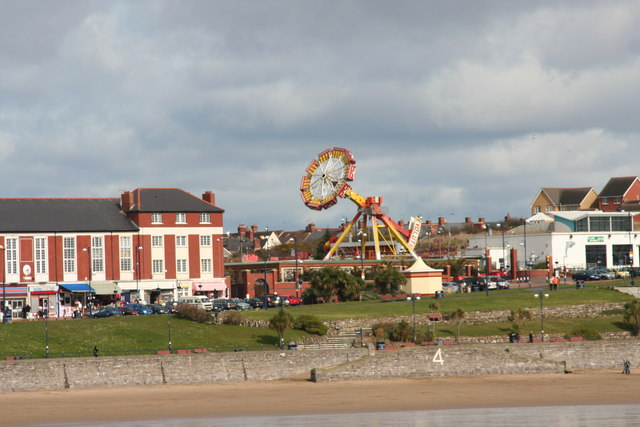 Barry Island funfair back in March 2008