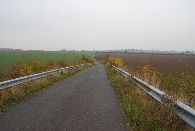 National Cycle Route 1 heading north