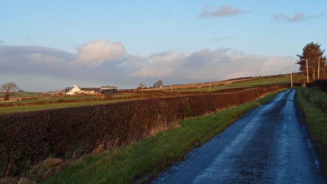 Minor Road near Baillieston Farm