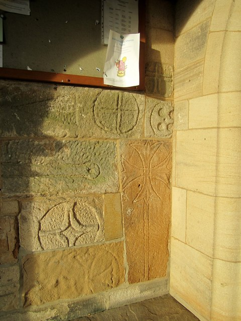 The Parish Church of St Thomas a Becket, Hampsthwaite - in the porch