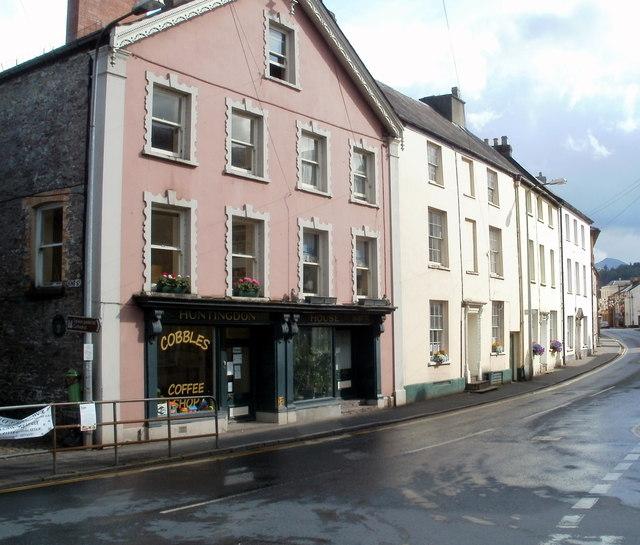 Brecon : The Struet south of Priory Hill