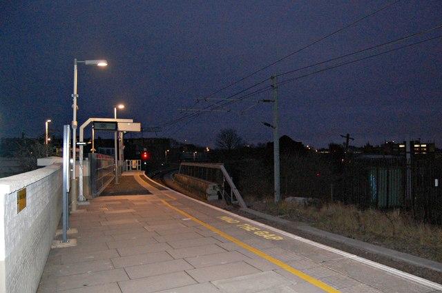 Evening at Willesden Junction