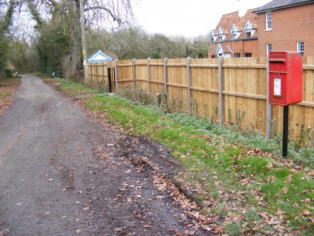 Neave Lane & Wootten Green Postbox