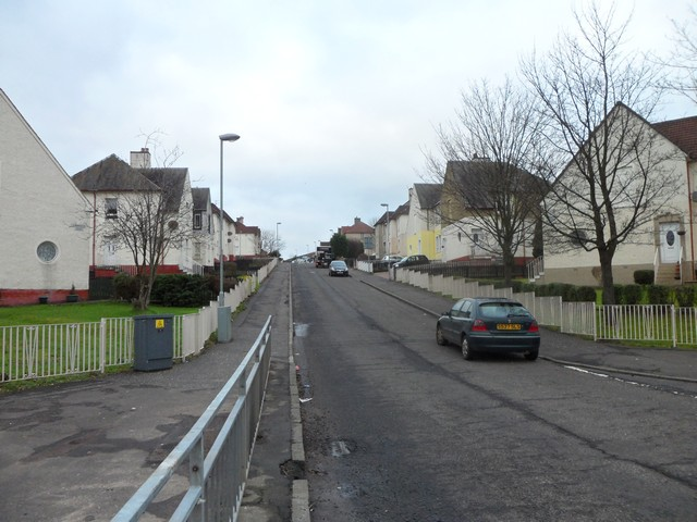 Gainside Road, Glenboig