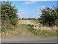SP0944 : Path meets road by Michael Dibb
