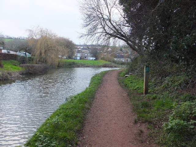 Grand Western Canal near Tidcombe