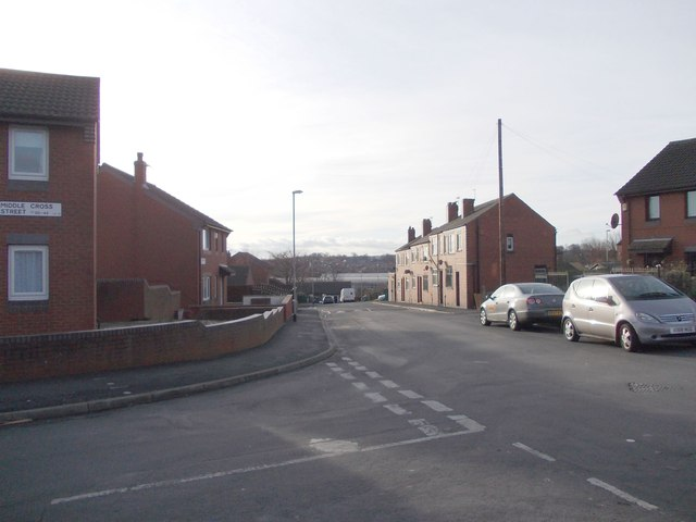 Armley Grove Place - viewed from Middle Cross Street