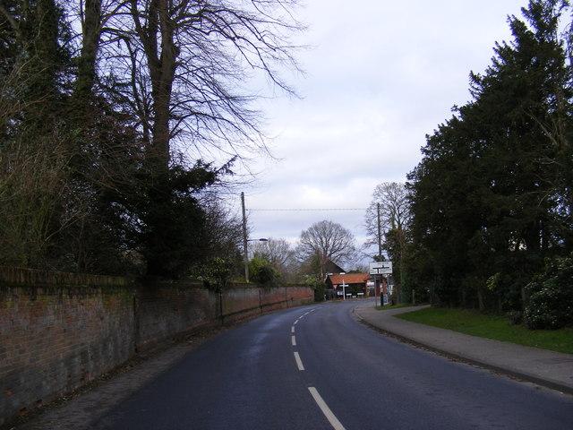 B1118 Wilby Road, Stradbroke
