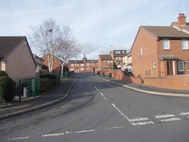 Masham Grove - looking towards Armley Grove Place