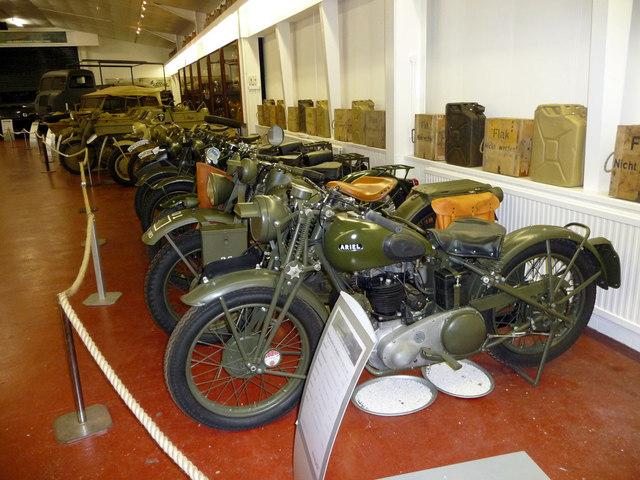 Motor Cycles, Donington Grand Prix Museum, Castle Donington