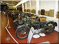 SK4225 : Motor Cycles, Donington Grand Prix Museum, Castle Donington by Christine Matthews