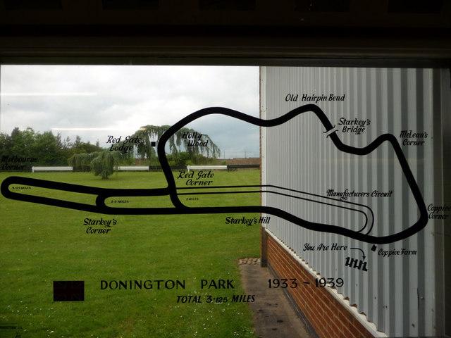 Window, Donington Park Grand Prix Museum, Castle Donington