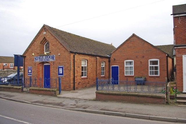 Stage Door Theatre (1), Aston Street, Wem