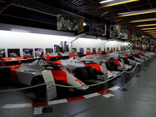 Donington Park Grand Prix Museum, Castle Donington