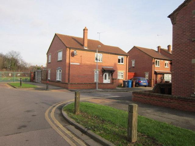 Middleton Court off Middleton Street, Hull