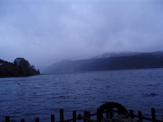Loch Ness, Looking SW from Inverfarigaig Pier