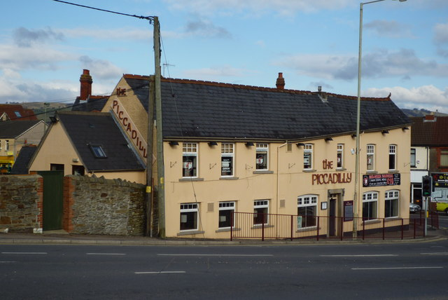 The Piccadilly Pub in Caerphilly taken Feb 2010`