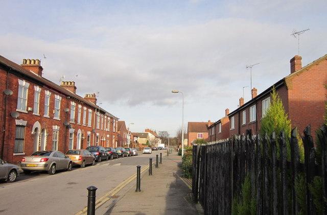 Middleton Street off Spring Bank