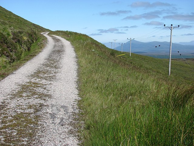 Duchally power station road