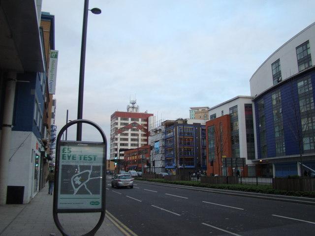Flats on Stratford High Street