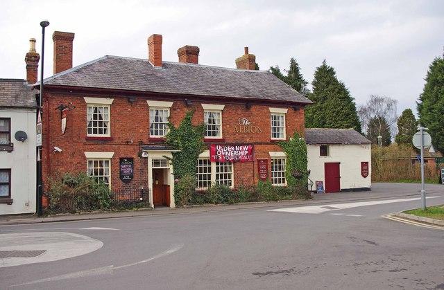 The Albion (1), 2 Aston Street, Wem