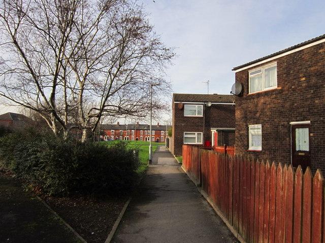 YDG housing on Vane Street, Hull