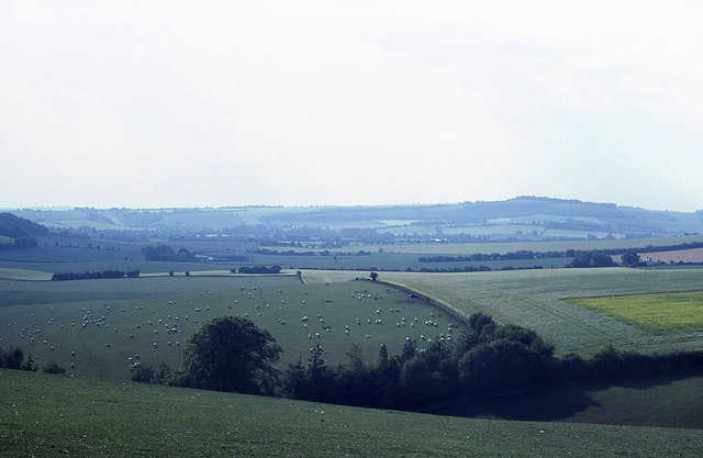 Farmland near Teglease Down