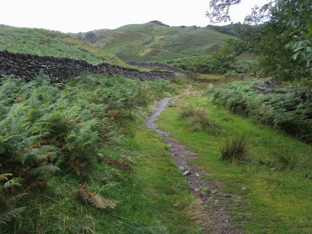 Footpath heading to Silver How