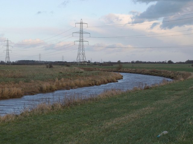 River Hull near South Field