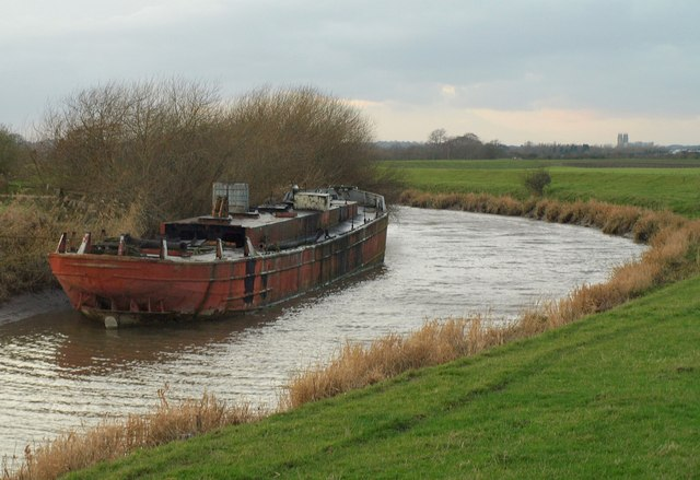 Boat on the River Hull