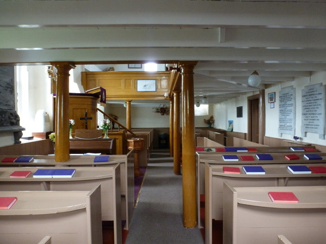 Lunna: inside the kirk