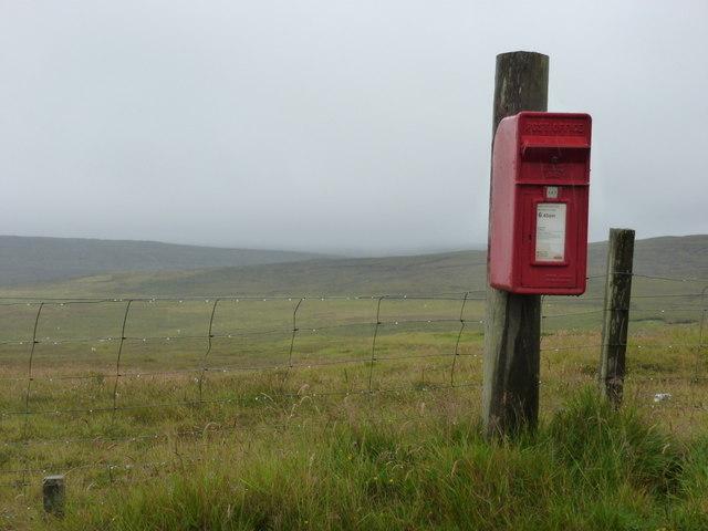 Skelberry: postbox № ZE2 71