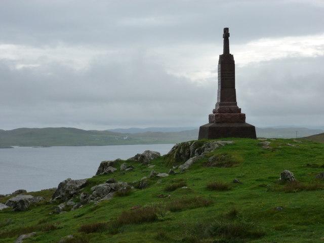 Brettabister: the war memorial