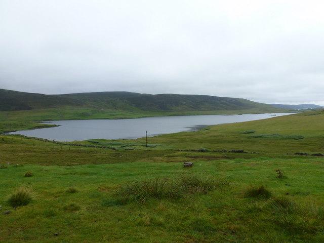 Haggersta: Loch Strom from by Quoyness