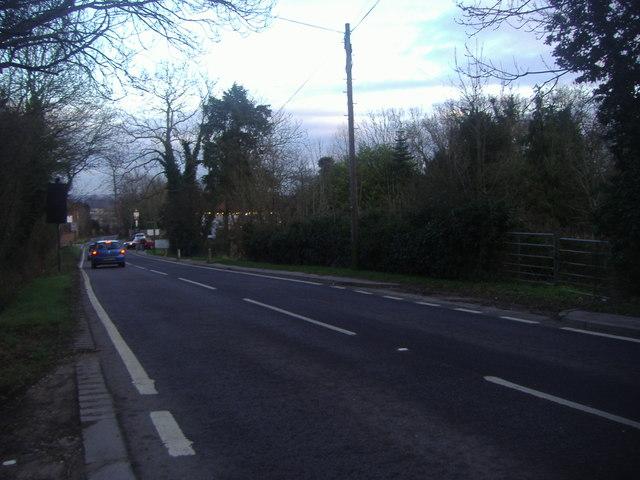 Whitewebbs Lane, Bull's Cross