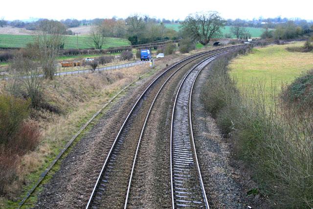 Great Western Railway at Crofton