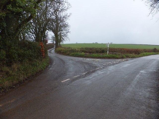 Burrow Corner crossroads