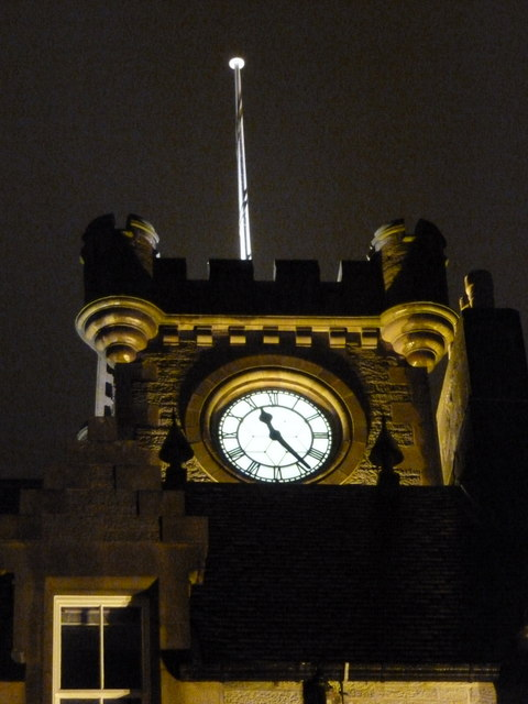 Lerwick: Town Hall clock