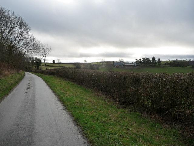 View towards Bishop's Moat Farm
