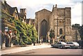 ST9387 : The Abbey and Old Bell Inn, Malmesbury by Humphrey Bolton