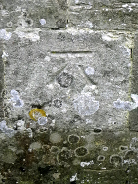 Bench Mark, The Church of St Michael and All Angels