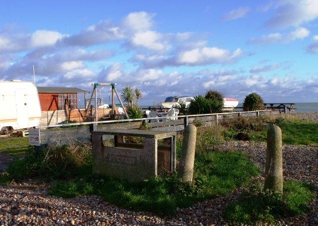 Gardens in The Promenade, Pevensey Bay