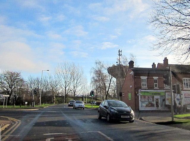 Redditch Headless Cross Drive Crossing Evesham Road
