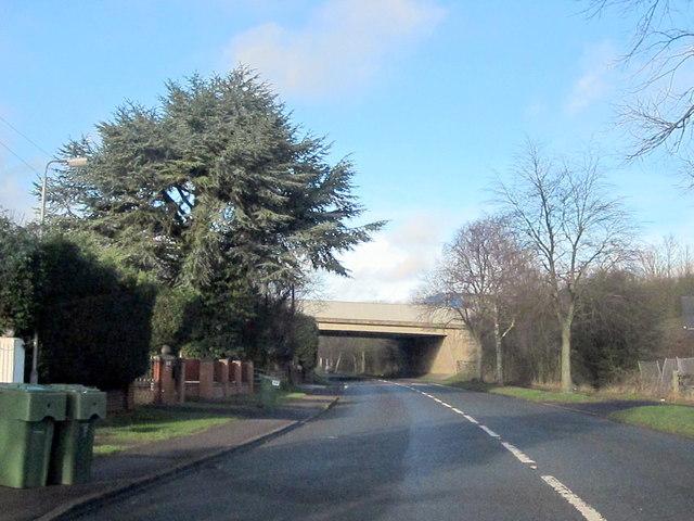Alvechurch M42 Crossing Birmingham Road