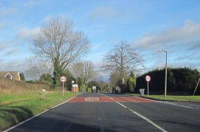B4120 Redditch Road Approaching A441
