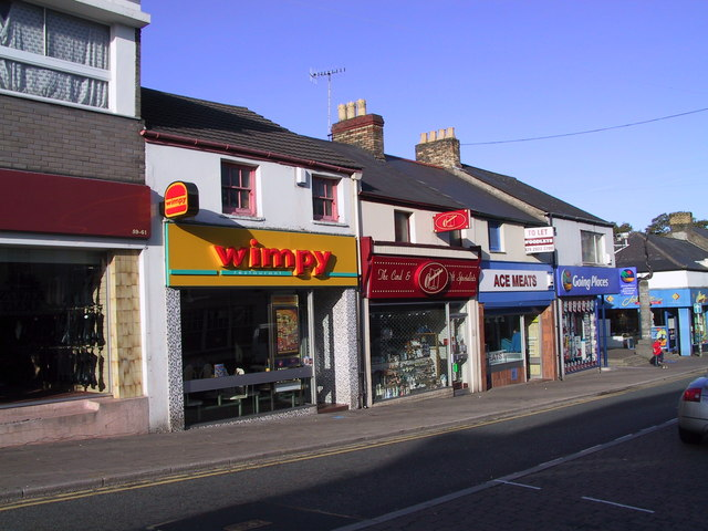Caerphilly Wimpy on Cardiff Road Nov 2001
